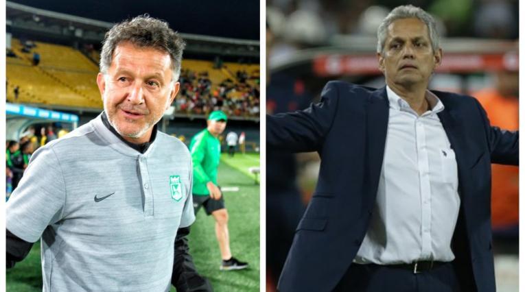 Juan Carlos Osorio y Reinaldo Rueda