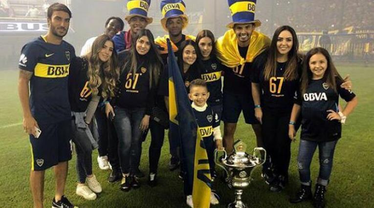 Colombianos en Boca Juniors