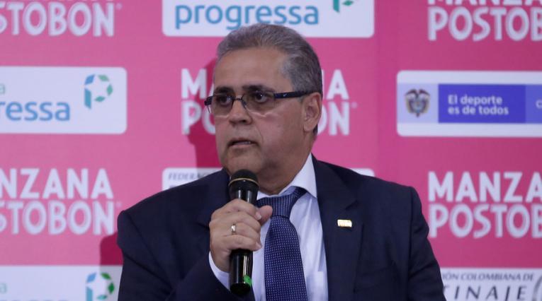 Alberto Herrera, presidente de la Federación de Patinaje