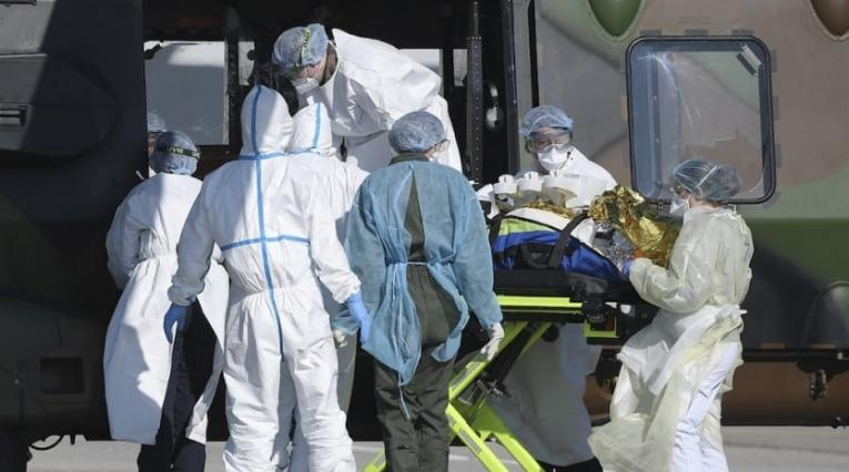 Hoy en el país murieron 10 personas por COVID-19