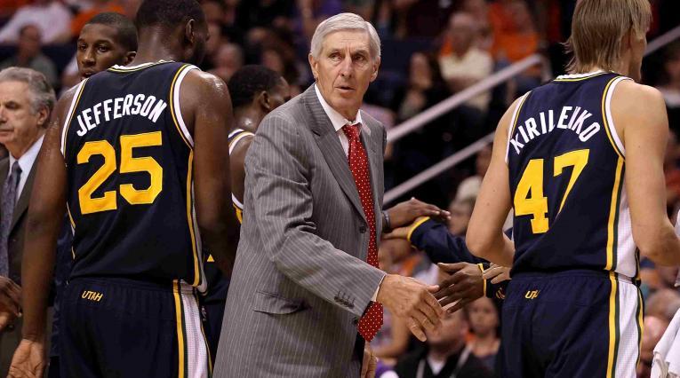 Jerry Sloan, leyenda de la NBA