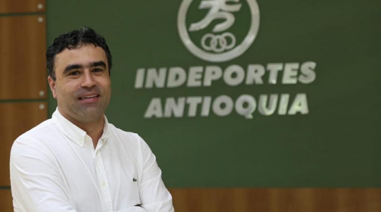 Sergio Roldán, director de Indeportes Antioquia