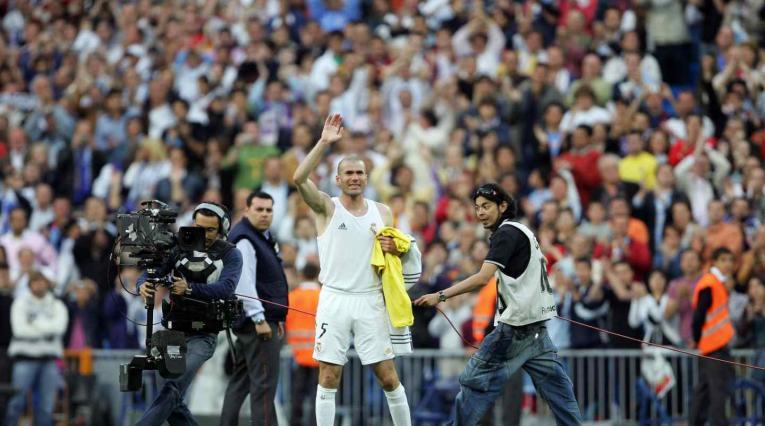 Zidane con Real Madrid