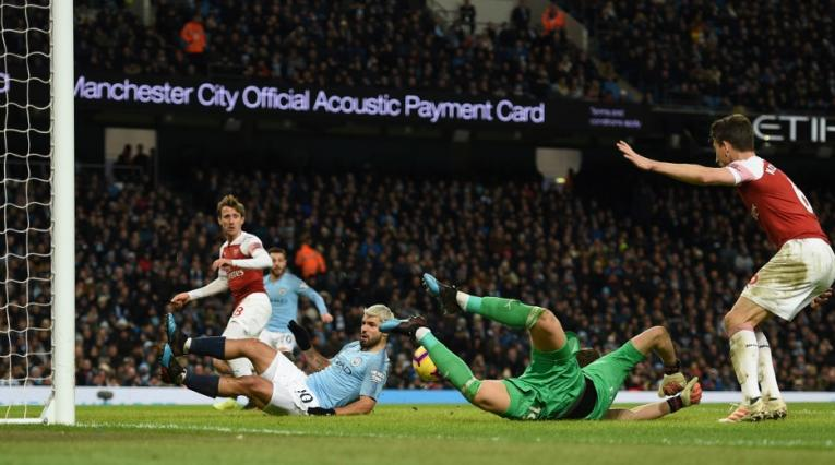 Manchester City vs Arsenal; Premier League