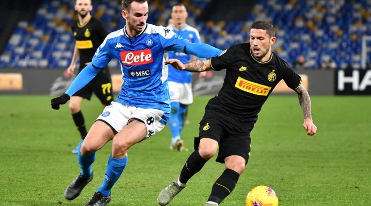 Ínter vs Napoli, Copa de Italia