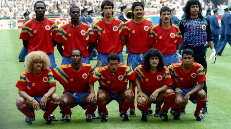 Alemania Colombia 1990