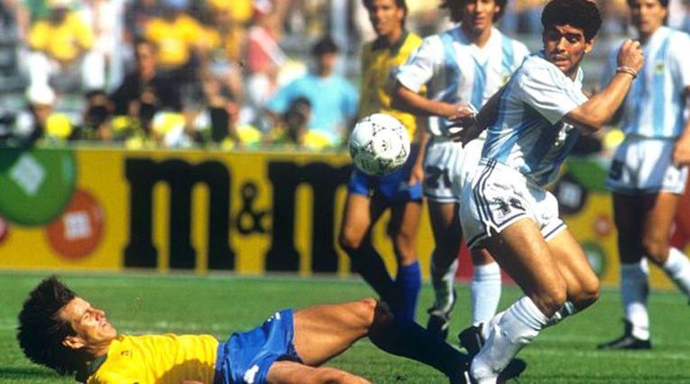 Brasil vs Argentina, Italia 90