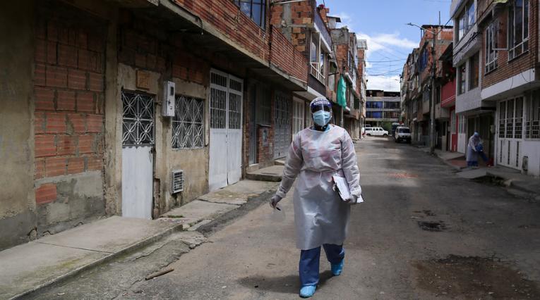 Coronavirus, Bogotá