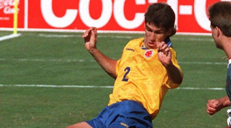 Andrés Escobar, jugador asesinado de la Selección Colombia