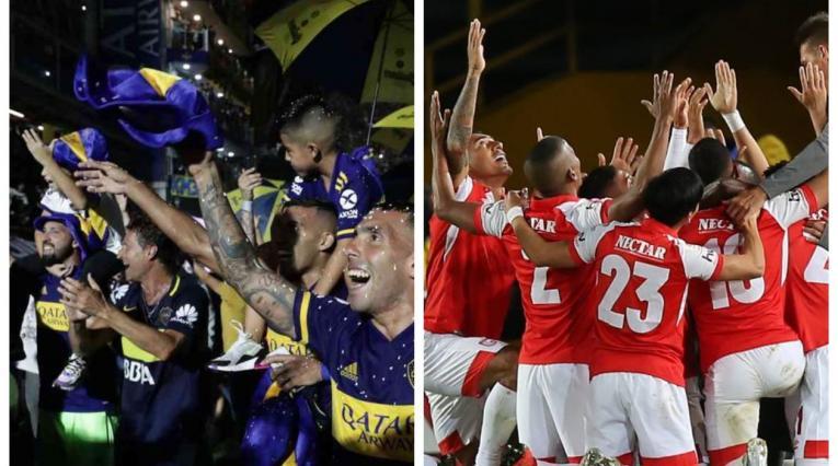 Boca Juniors y Santa Fe