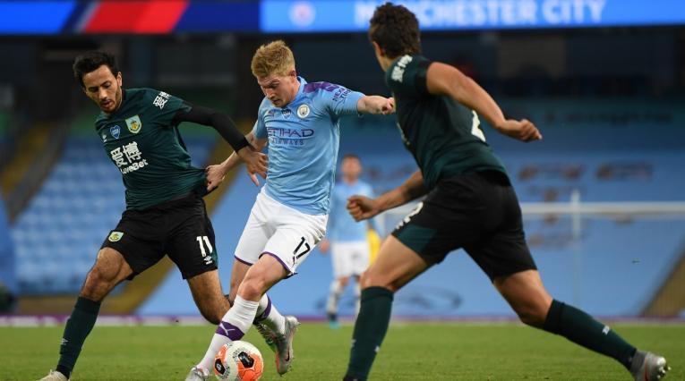 Manchester City Vs. Burnley