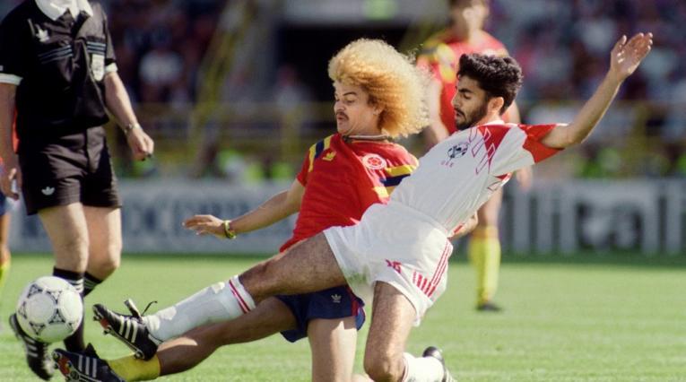 Carlos 'El Pibe' Valderrama, líder de la Selección Colombia en Italia 90