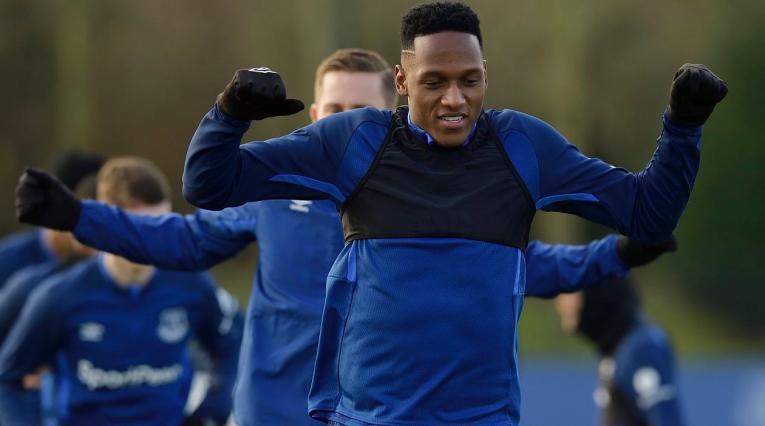 Yerry Mina, Everton