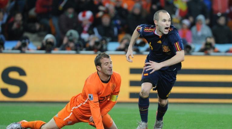 España, Mundial de Sudáfrica 2010