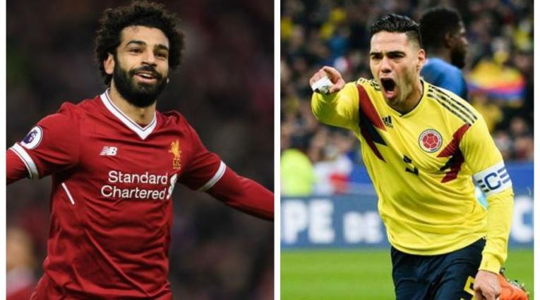 Mohamed Salah y Falcao García
