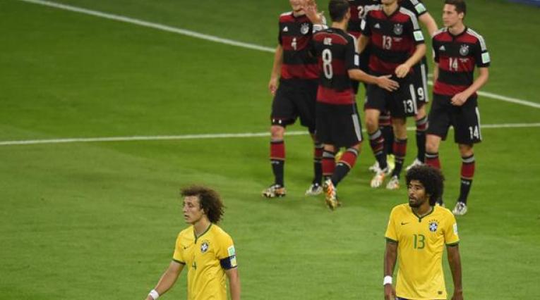 Brasil vs Alemania - Mundial de 2014