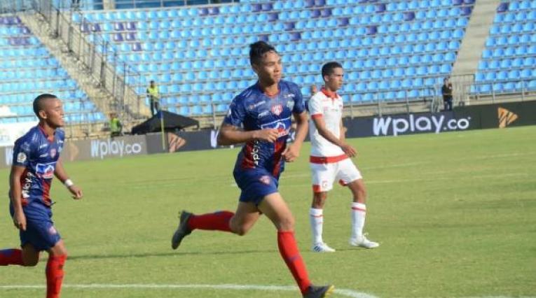 Ricardo Márquez, delantero colombiano