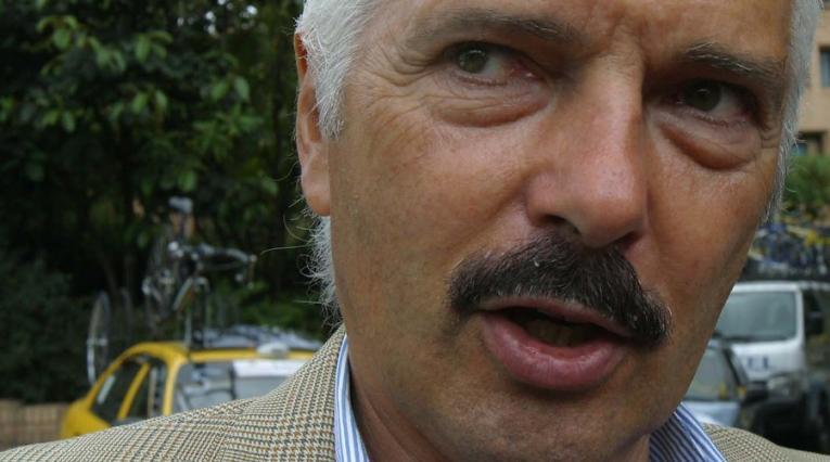 Gianni Savio, manager del equipo Androni