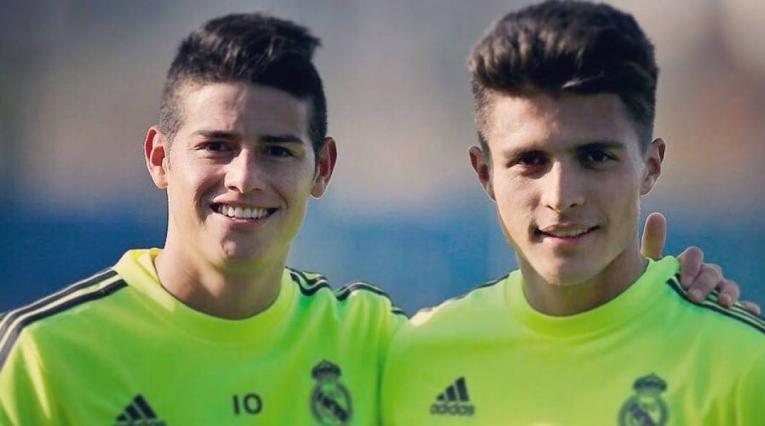 Juan José Narváez y James Rodríguez - Real Madrid