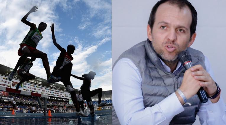 Ernesto Lucena, Mundial de atletismo