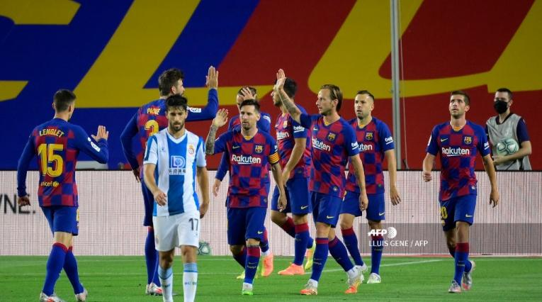 Barcelona vs Espanyol - Liga Española 19-20