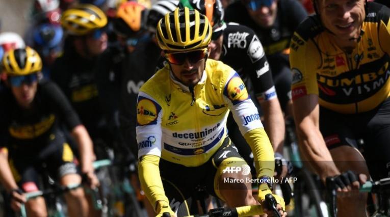 Julian Alaphilippe, ciclista francés en el Tour