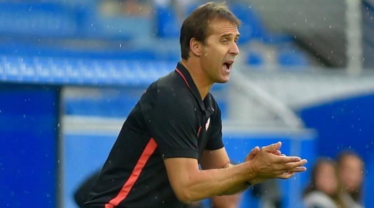 Lopetegui, técnico del Sevilla