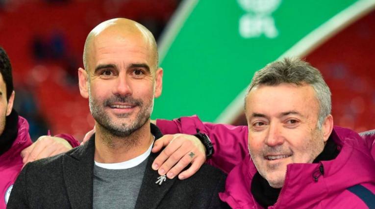Domenec Torrent, exasistente del Manchester City