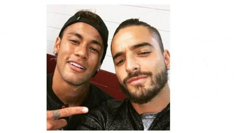 Neymar y Maluma