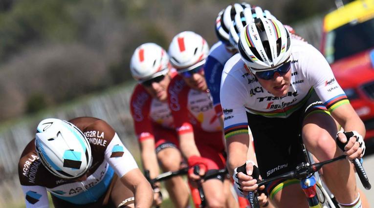 Mads Pedersen, ciclista campeón del mundo