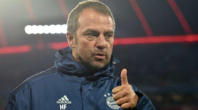 Hansi Flick, técnico del Bayern Múnich