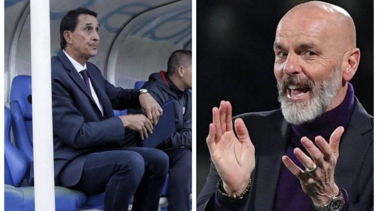 Alexandre Guimaraes y Stefano Pioli