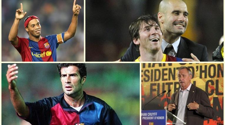 Ídolos que se fueron del Barcelona