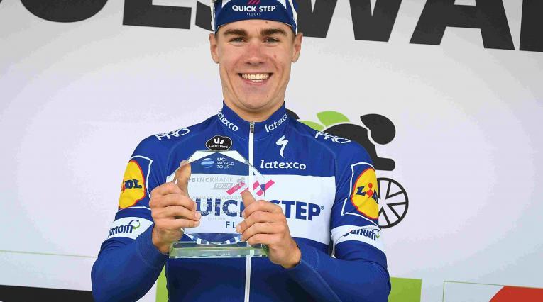 Jakobsen, ciclista holandés