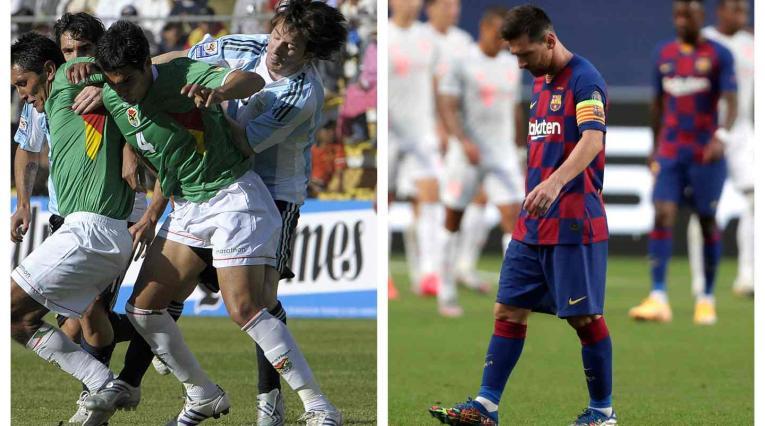Messi derrotas