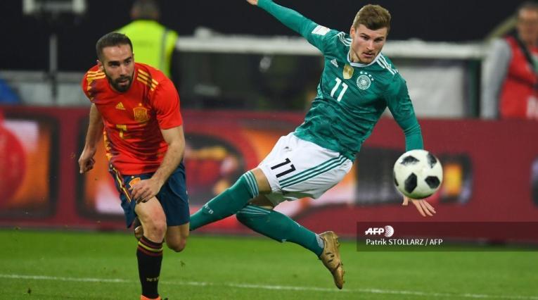 España vs Alemania, Liga de Naciones