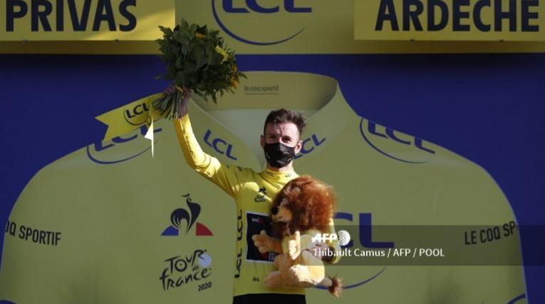 Adam Yates, ciclista británico
