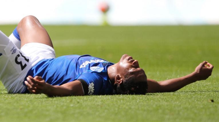 Yerry Mina, Everton vs West Bromwich