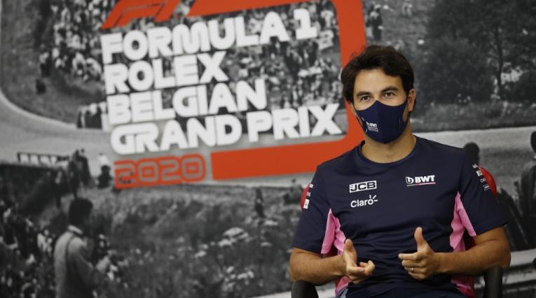 Sergio Pérez, Fórmula 1