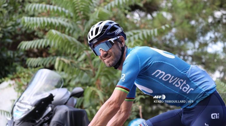 Alejandro Valverde, ciclista español - Tour de Francia 2020