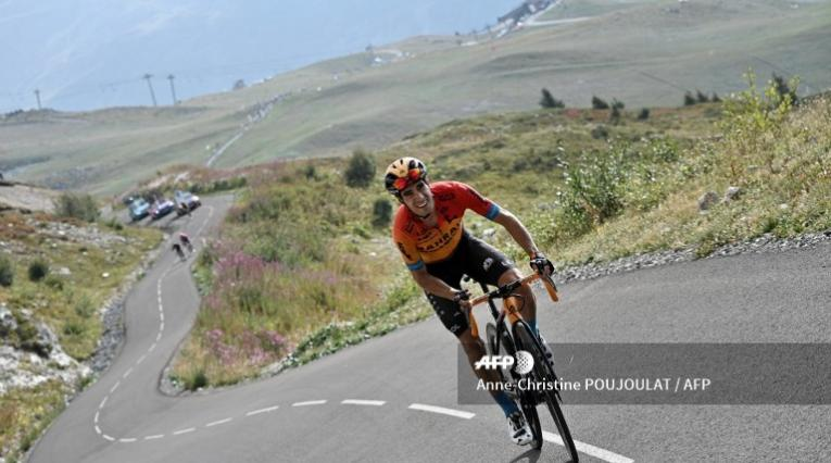 Mikel Landa, ciclista del Bahrain Maclaren