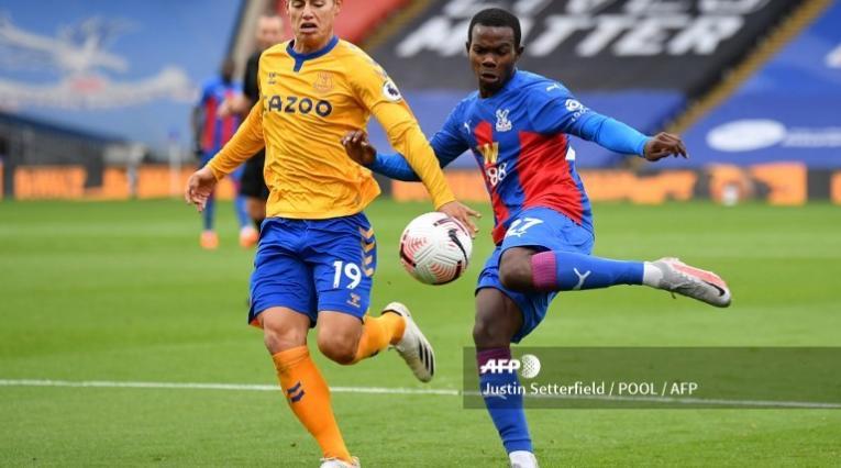 James Rodríguez, jugador colombiano del Everton