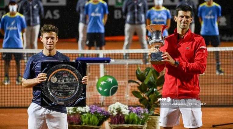 Djokovic campeón en Roma