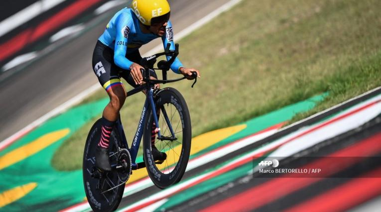 Daniel Felipe Martínez, Mundiales de ciclismo