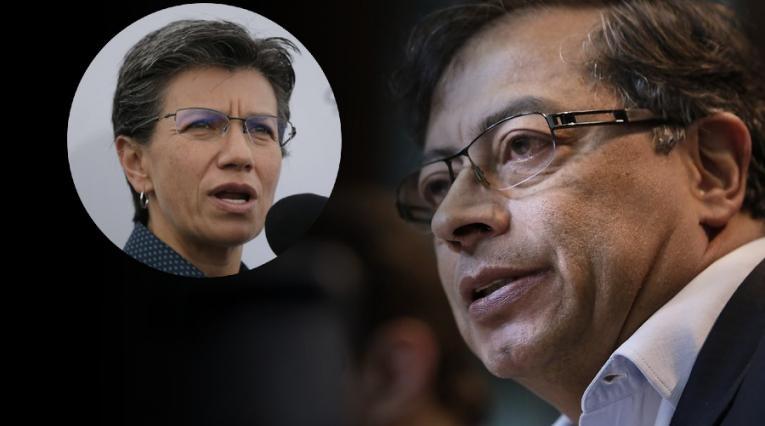 Gustavo Petro, Claudia López