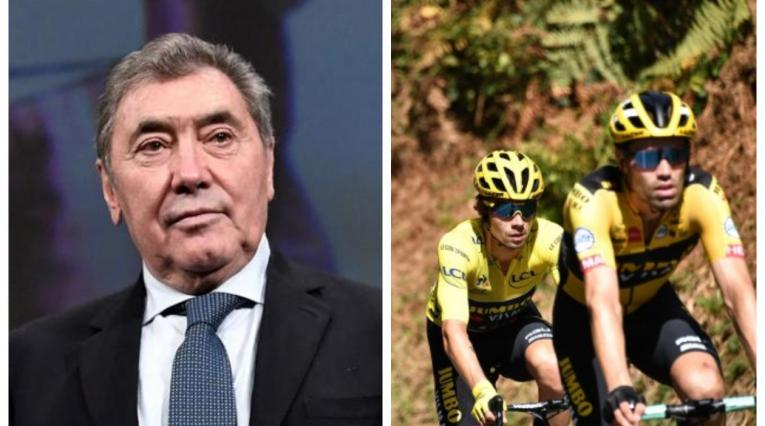 Eddy Merckx y Jumbo Visma