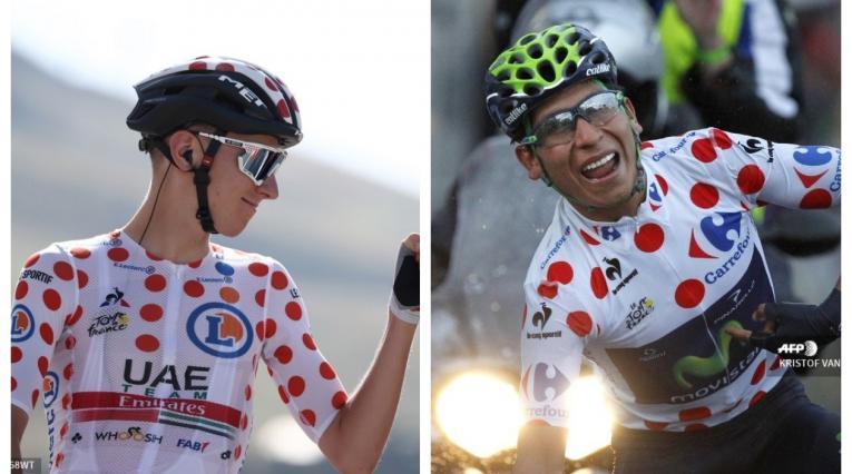 Pogacar y Nairo - Tour de Francia 2020 y 2013
