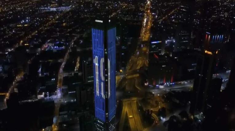 Bogotá es azul