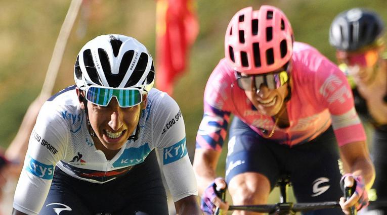 Egan Bernal, Rigoberto Urán, Tour de Francia 2020