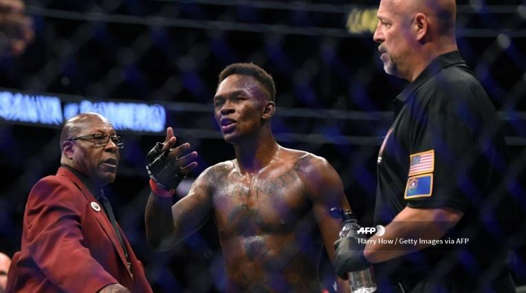 Israel Adesanya, UFC